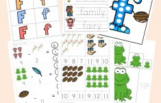 Free Letter F Worksheets   Fun With Mama   Printable Letter Puzzles