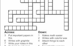 Free Make Your Own Crosswords Printable | Free Printables   Create Your Own Crossword Puzzle Printable