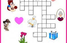 Free Mother's Day Crossword Puzzle Printable   Crafts For Kids   Printable Crossword Of The Day
