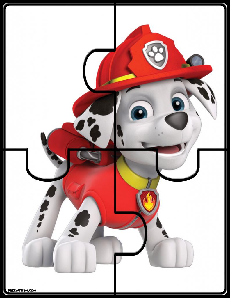 Free Paw Patrol Jigsaw Puzzle | Linus | Paw Patrol Games, Paw Patrol - Printable Jigsaw Puzzles For Preschoolers