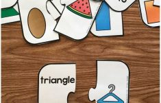 Free Printable 2D Shape Puzzles | Simply Kinder Blog Posts | Shape   Printable Puzzles Preschool