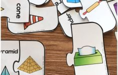 Free Printable 3D Shape Puzzles | Occupational Therapy | 3D Shapes   Printable 3D Puzzles