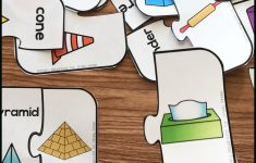 Free Printable 3D Shape Puzzles   Simply Kinder   Printable 3D Puzzle