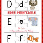 Free Printable Abc Puzzles: Upper And Lowercase Letter Matching   Letter T Puzzle Printable
