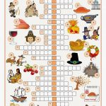 Free Printable Cards: Free Printable Crossword Puzzles   Printable Thanksgiving Crossword Puzzles For Adults