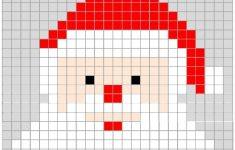 Free Printable Christmas Pixel Puzzles Activity For Kids | Teaching   Printable Pixel Puzzles