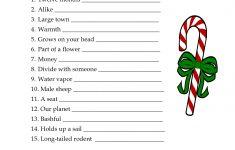 Free Printable Christmas Word Games Puzzles – Festival Collections   Christmas Printable Puzzles Games