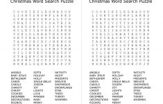 Free Printable Christmas Word Search Puzzles – Festival Collections   Printable Holiday Puzzles