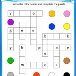 Free Printable Crosswords With Top 10 Benefits For Our Kids   Free Printable Crossword Puzzles For Elementary Students