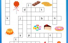 Free Printable Crosswords With Top 10 Benefits For Our Kids   Printable Crossword Food