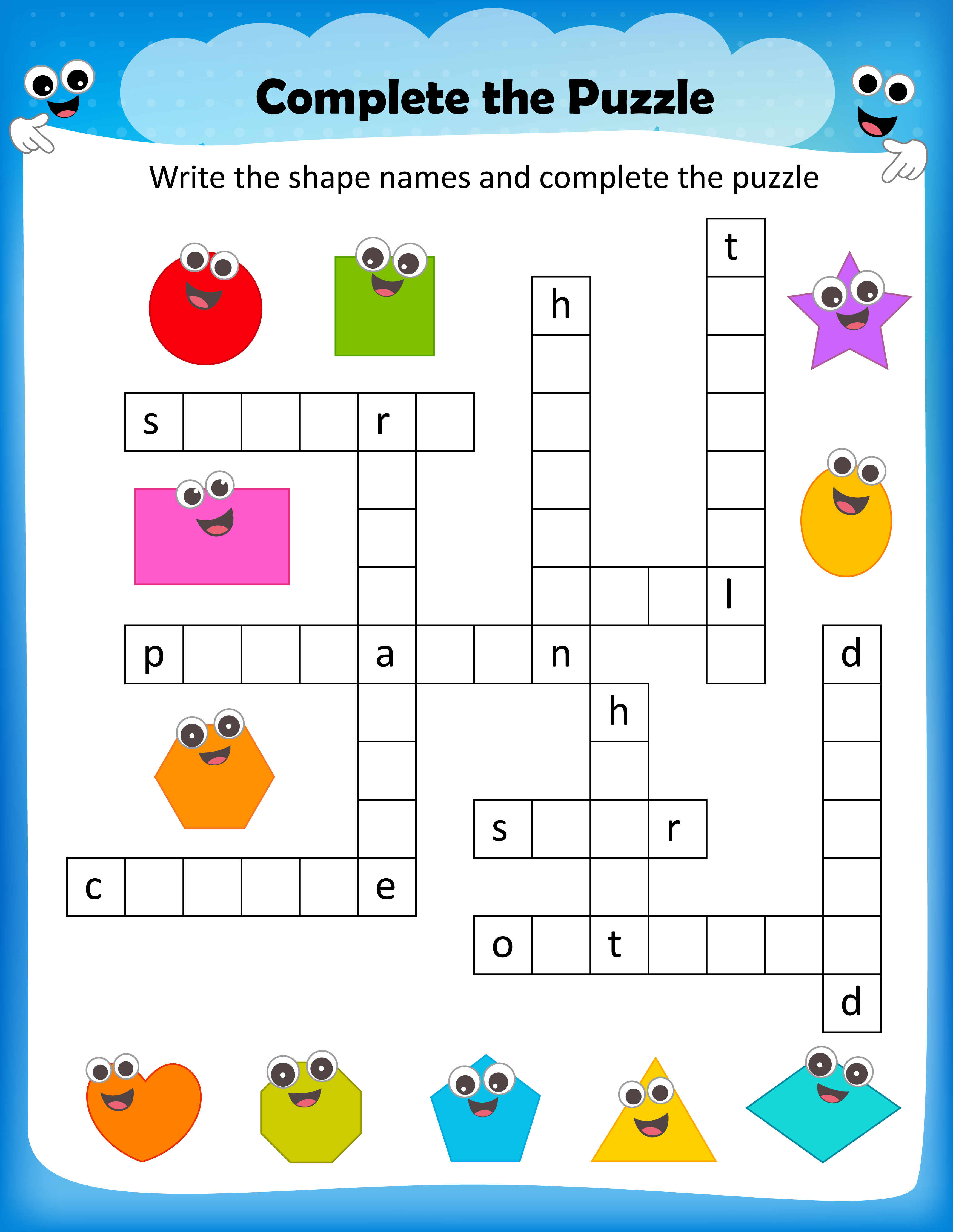 Free Printable Crosswords With Top 10 Benefits For Our Kids - Printable Crossword Puzzles For 5 Year Olds