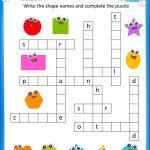 Free Printable Crosswords With Top 10 Benefits For Our Kids   Printable Crossword Puzzles For Preschoolers