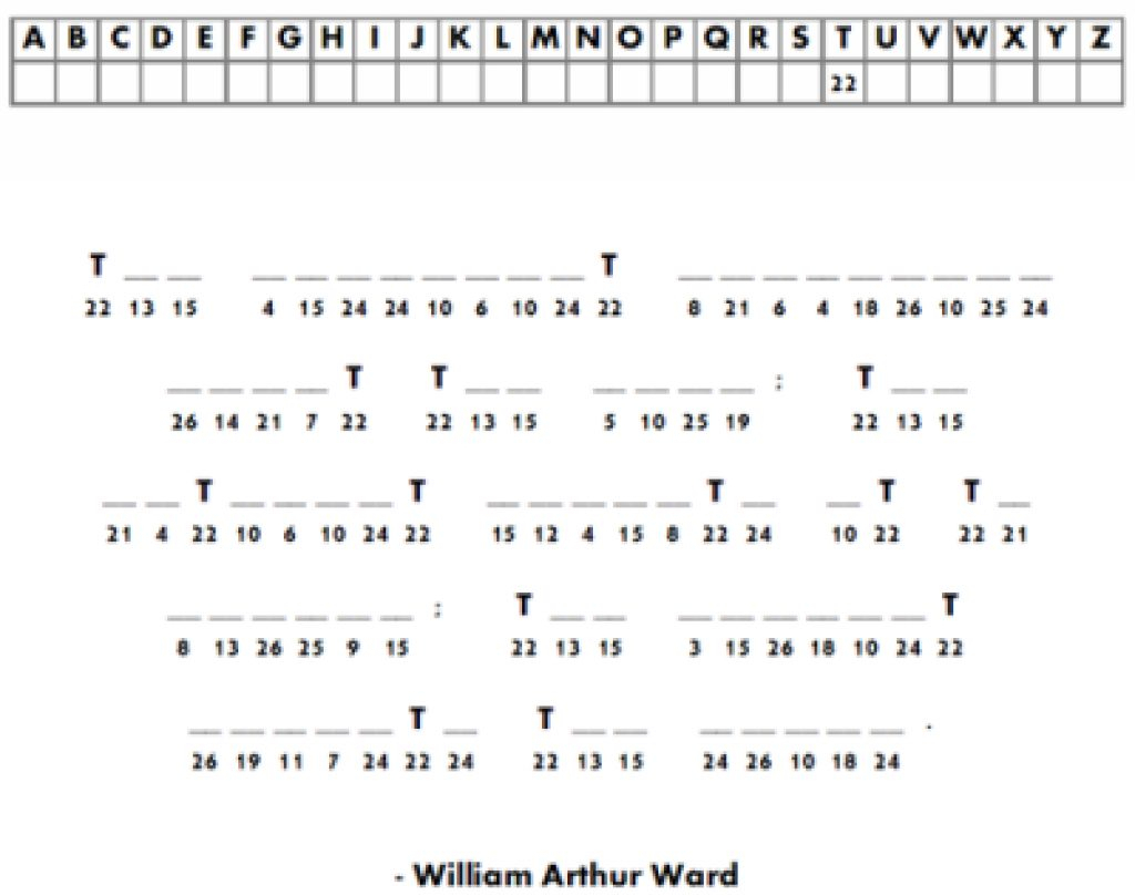 Free Printable Cryptograms With Answers | Free Printables - Printable Puzzles Cryptograms