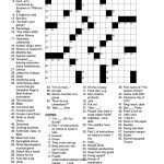 Free Printable Daily Crossword Puzzles (82+ Images In Collection) Page 1   Printable Daily Record Crossword