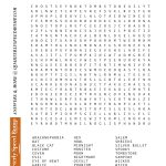 Free Printable Halloween Word Search Puzzles | Halloween Puzzle For   Printable Halloween Puzzle