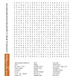 Free Printable Halloween Word Search Puzzles | Halloween Puzzle For   Printable Monster Puzzle