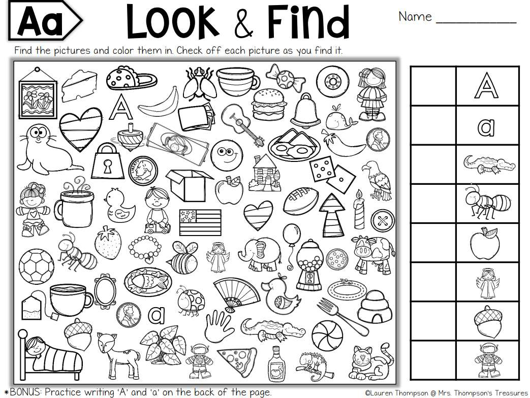 Free, Printable Hidden Picture Puzzles For Kids - Printable Puzzles For 6 Year Olds
