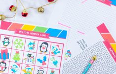 Free Printable Holiday Games That You Will Love   Sarah Titus   Printable Holiday Puzzle