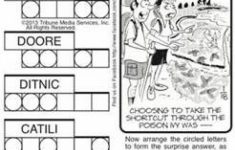 Free Printable Jumble Puzzles   Bing Images | Jumble Puzzles   Printable Jumble Puzzles For Adults