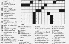 Free Printable Large Print Crossword Puzzles | M3U8   Easy Large Print Crossword Puzzles Printable