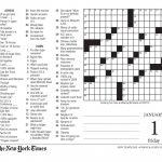 Free Printable Large Print Crossword Puzzles | M3U8   Free Printable   Print Large Puzzle