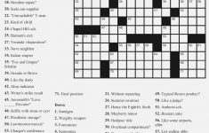Free Printable Large Print Crossword Puzzles   M3U8   Printable Crossword Large Print