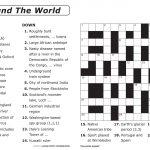 Free Printable Large Print Crossword Puzzles | M3U8   Printable Crossword Puzzle For 8 Year Old