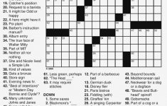 Free Printable Large Print Crossword Puzzles | M3U8   Printable Crosswords For 15 Year Olds
