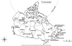 Free Printable Map Canada Provinces Capitals   Google Search   Printable Puzzle Map Of Canada