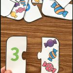 Free Printable Number Match Puzzles | Numbers | Simply Kinder, Free   Printable Number Puzzles For Preschoolers