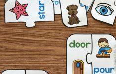 Free Printable Rhyming Puzzles   I ♥ Kindergarten   Rhyming   Printable Puzzles Preschool