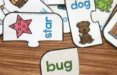 Free Printable Rhyming Puzzles | Rhyming | Rhyming Activities   Printable Rhyming Puzzles