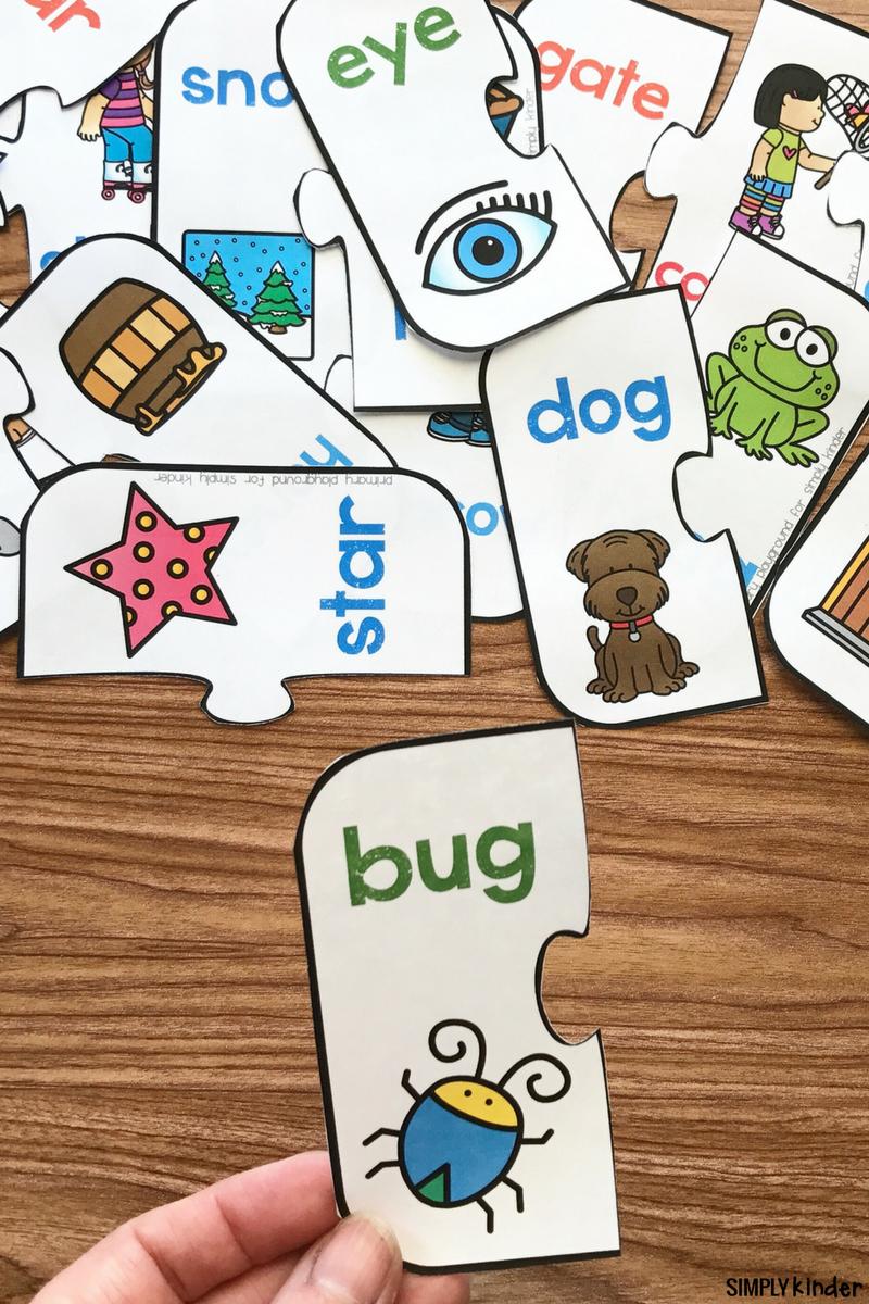 Free Printable Rhyming Puzzles   Rhyming   Rhyming Activities - Printable Rhyming Puzzles