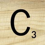 Free Printable Scrabble Letter Tiles Sign   Paper Trail Design   Printable Crossword Letters