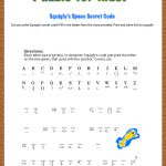 Free Printable Secret Code Word Puzzle For Kids. This Puzzle Has A   Printable Escape Room Puzzles