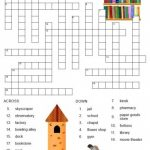 Free Printable Spanish Crossword Puzzles From Printablespanish   Printable Puzzles In Spanish