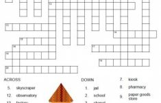 Free Printable Spanish Crossword Puzzles From Printablespanish   Printable Spanish Crossword Puzzle