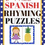 Free Printable Spanish Rhyming Words | Bilingual Mami   Printable Puzzles In Spanish