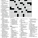 Free Printable Themed Crossword Puzzles – Myheartbeats.club   Printable Crossword Puzzles Movie Themed