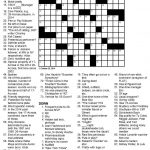 Free Printable Themed Crossword Puzzles   Printable 360 Degree   Printable Crossword Puzzle Adults