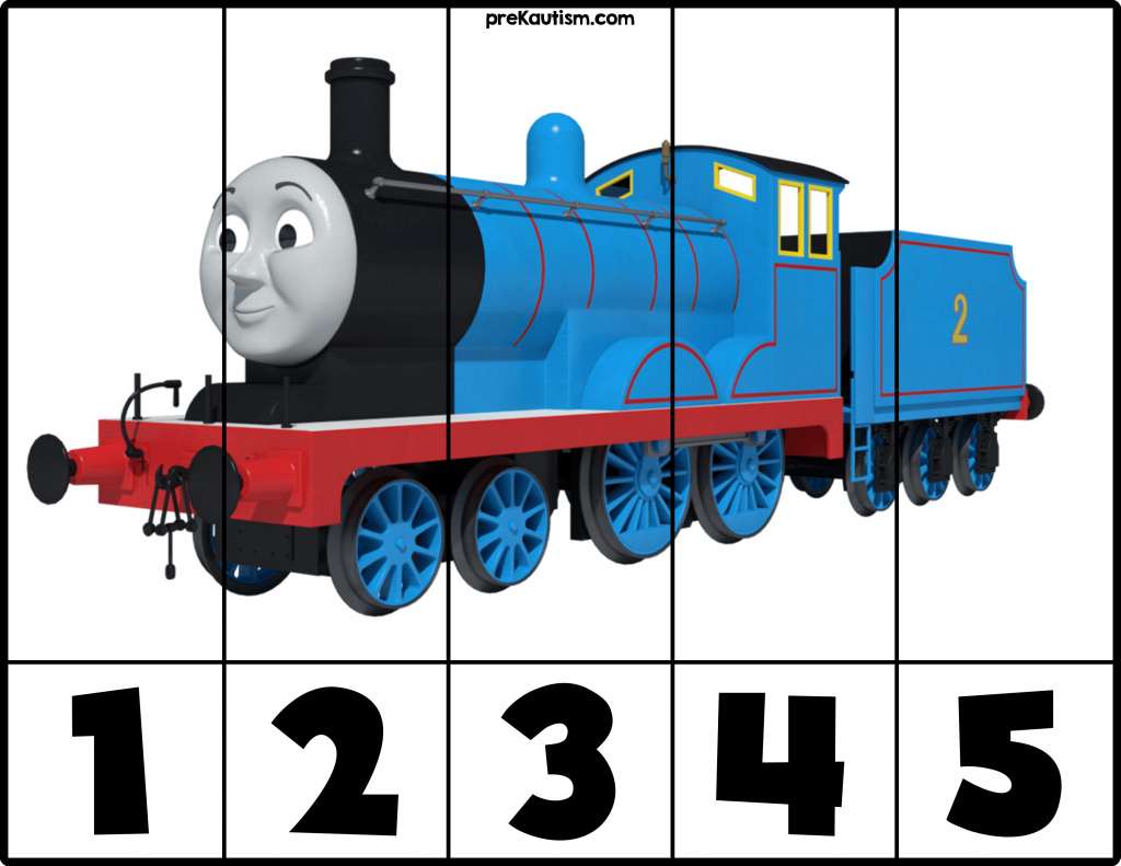 Free! Printable Thomas & Friends Puzzles | Autism Activities For - Printable Train Puzzle