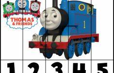 Free! Printable Thomas & Friends Puzzles   Prekautism   Craft   Printable Train Puzzle