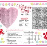 Free Printable Valentine's Day Puzzles | School Stuff | Valentines   Free Printable Valentine Puzzles For Adults