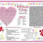 Free Printable Valentine's Day Puzzles | School Stuff | Valentines   Printable Valentine Puzzles For Adults