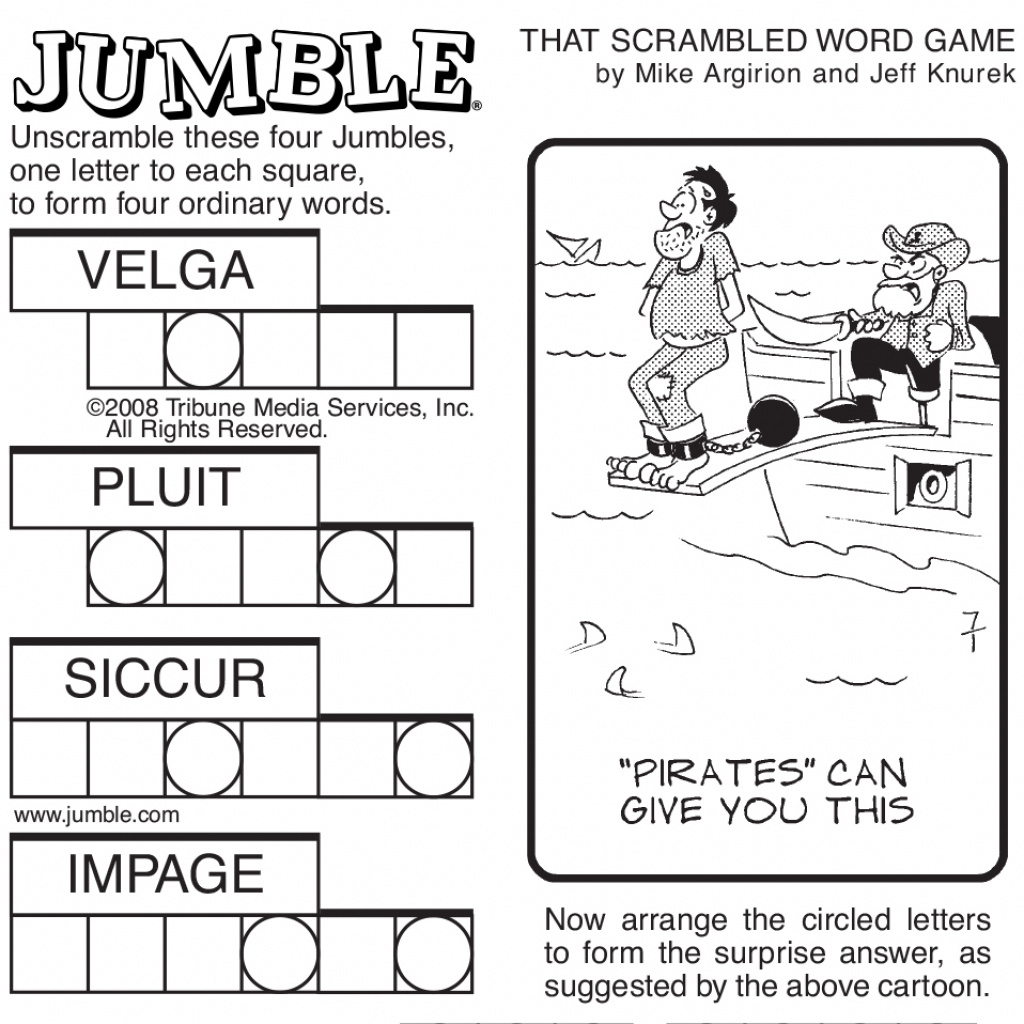 Free Printable Word Jumble Puzzles For Adults Printable Jumble For - Printable Jumble Puzzle