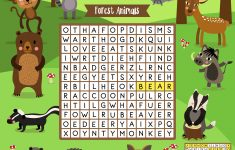 Free Printable Word Search For Kids   Free Printable Dog Puzzle