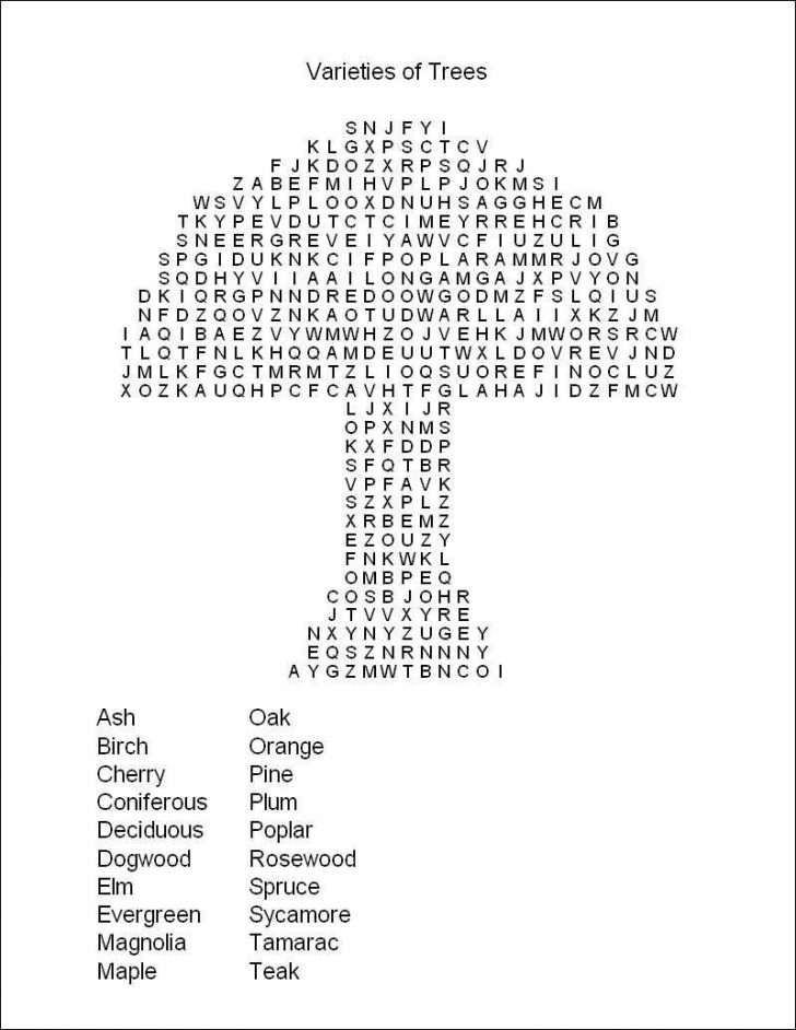 Printable Puzzles And Word Games