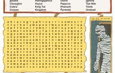 Free Printable Word Searches For Kids   Adventure Theme Games For   Printable Lexicon Puzzles