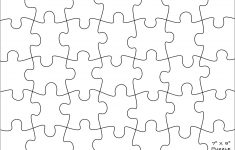 Free Puzzle Pieces Template, Download Free Clip Art, Free Clip Art   Printable 8X10 Puzzle Template