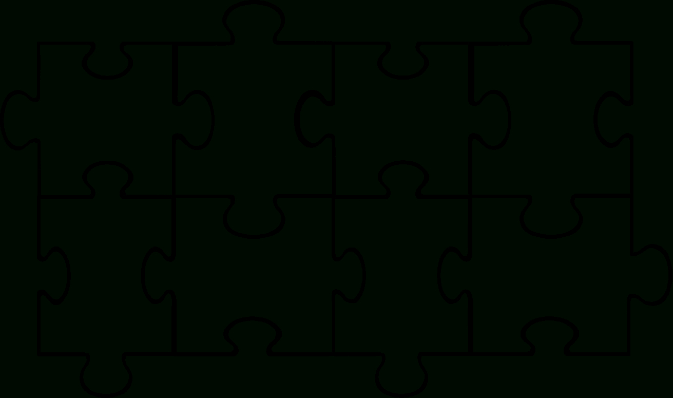 Free Puzzle Template, Download Free Clip Art, Free Clip Art On - Printable 6 Piece Jigsaw Puzzle